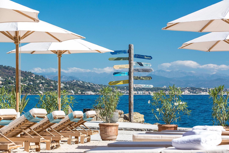 Restaurant La Guérite Cannes sur l'Île de Sainte-Marguerite, Cannes