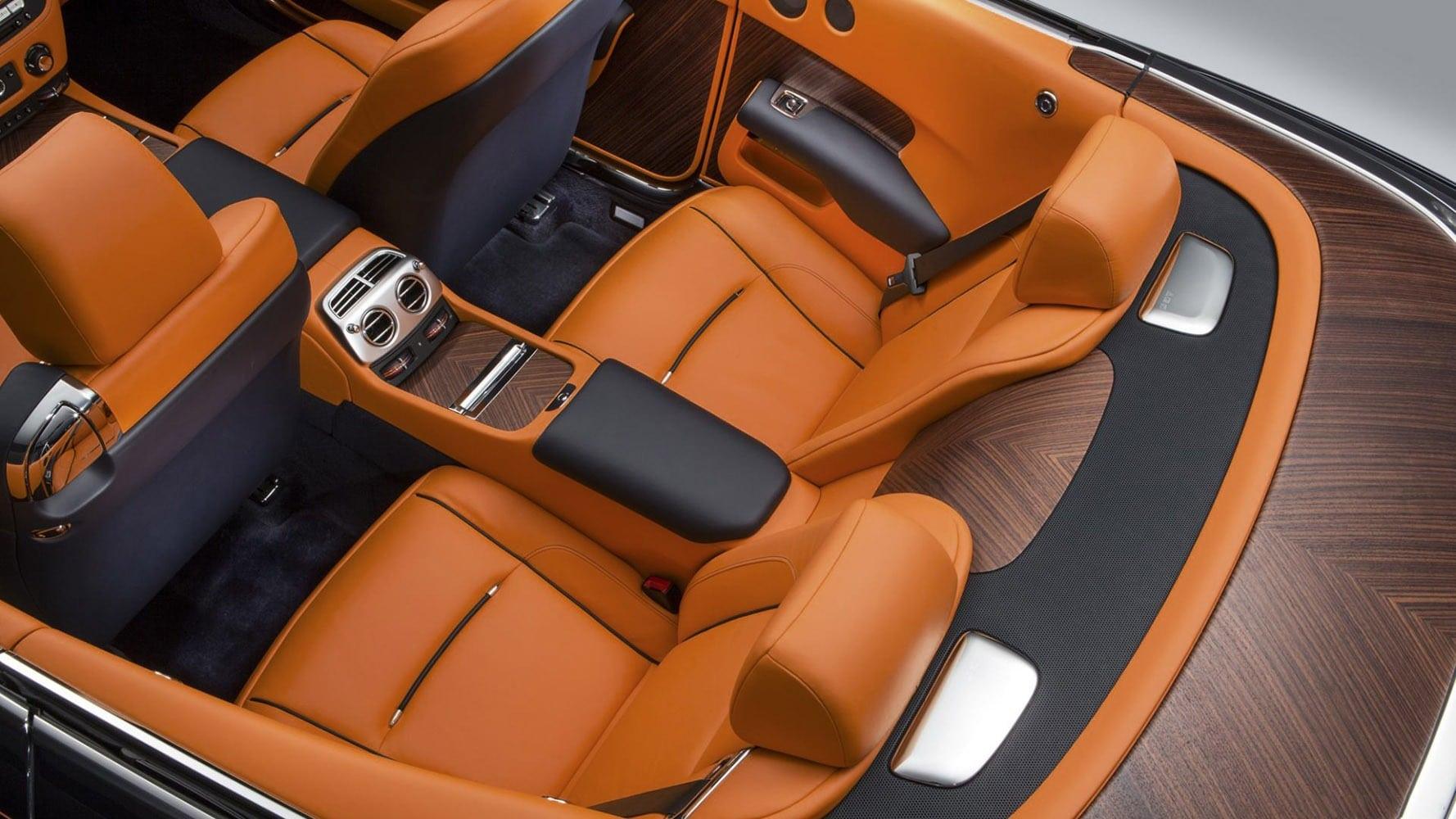 Rent Rolls Royce Dawn St Tropez Cannes Monaco