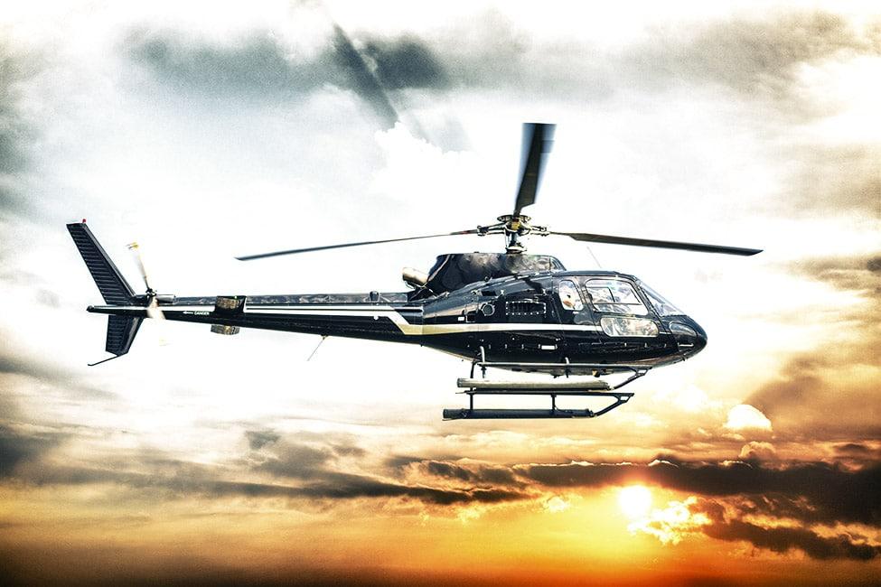 Transfert hélicoptère