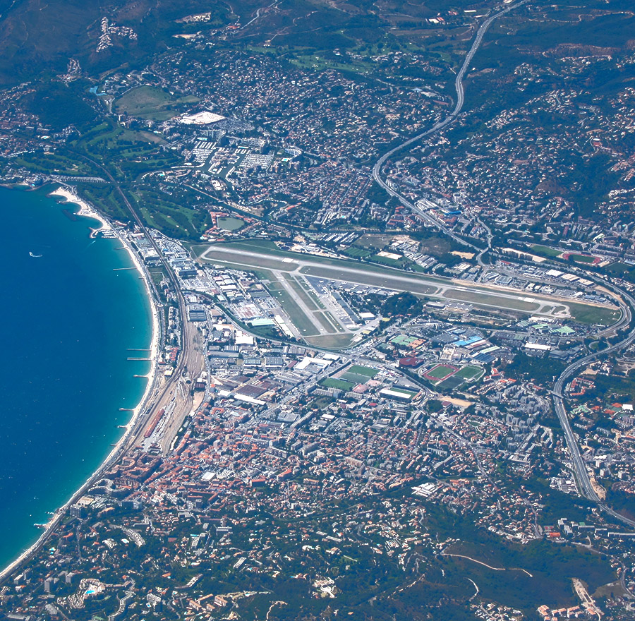 Cannes-Mandelieu Airport, Cannes, France
