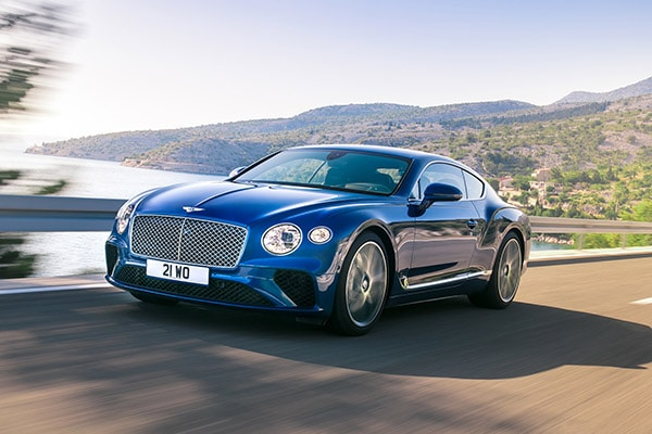 Voiture Bentley Continental GT