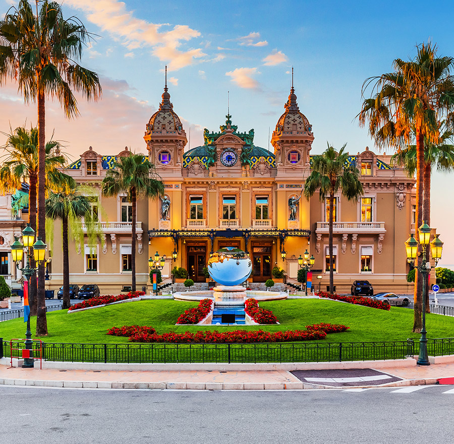 Monte Carlo Casino in Monaco, French Riviera