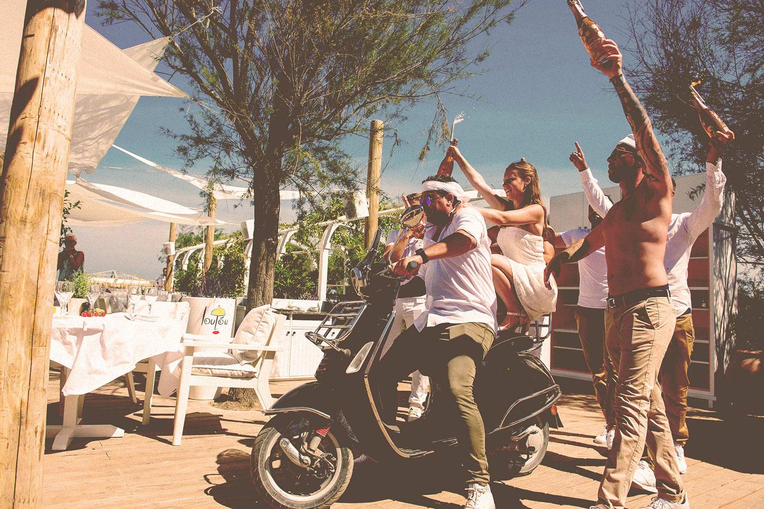 Festive days at Loulou Plage & Restaurant