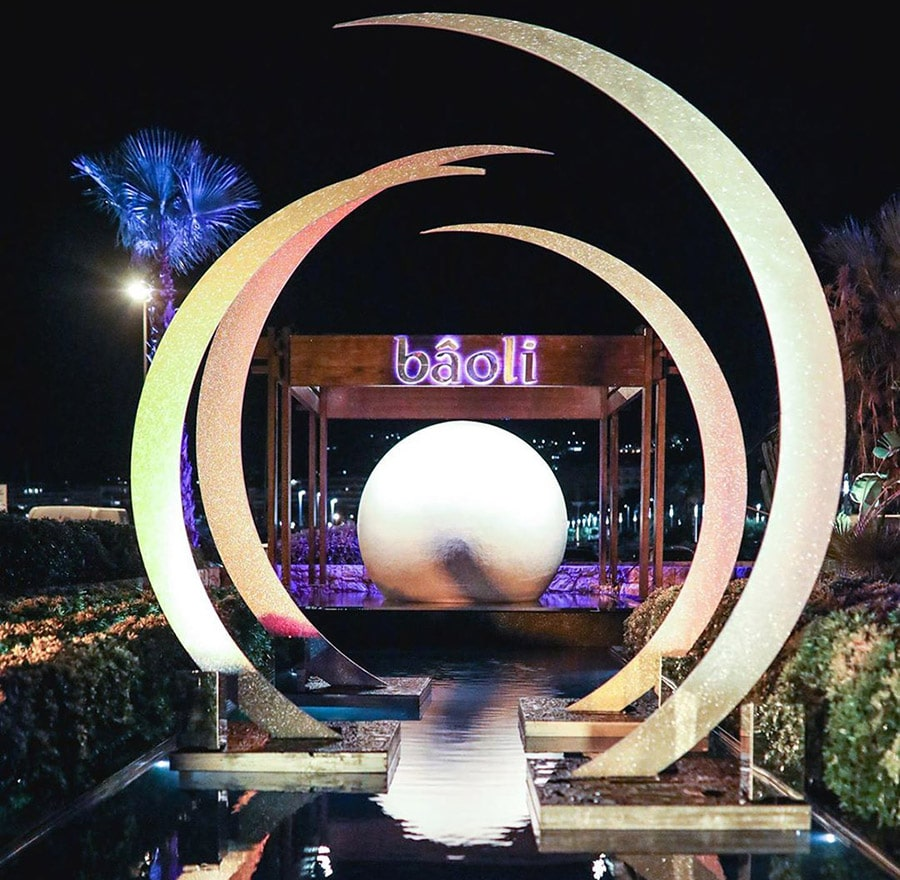 Le Bâoli nightclub in Cannes