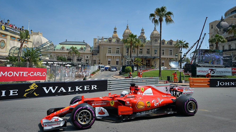 Formula 1 participating in the Monaco Grand Prix 2021