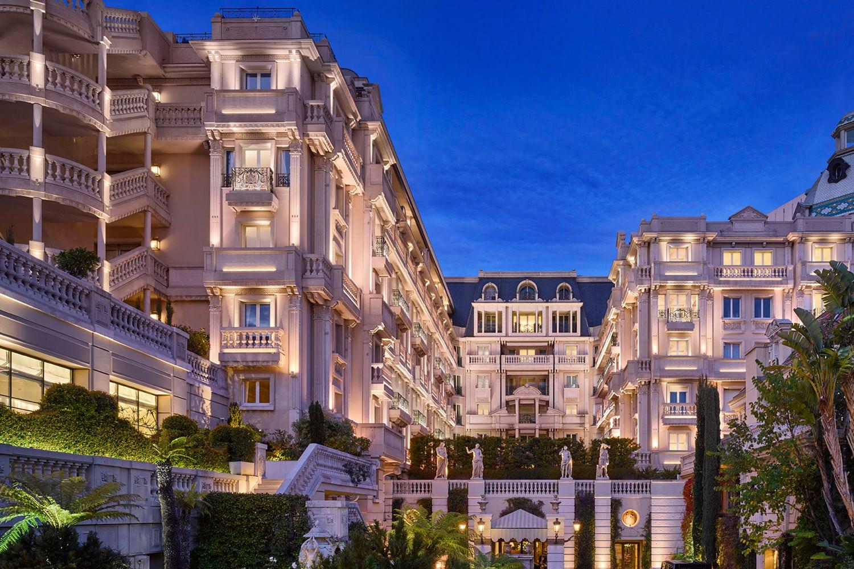 Exterior of the Hotel Le Métropole Monte-Carlo, Monaco