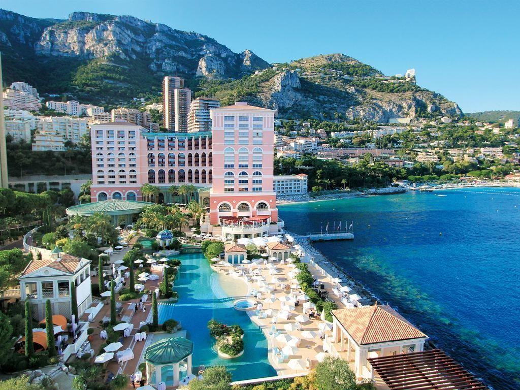 Exterior of the Hôtel Monte-Carlo Bay, Monaco