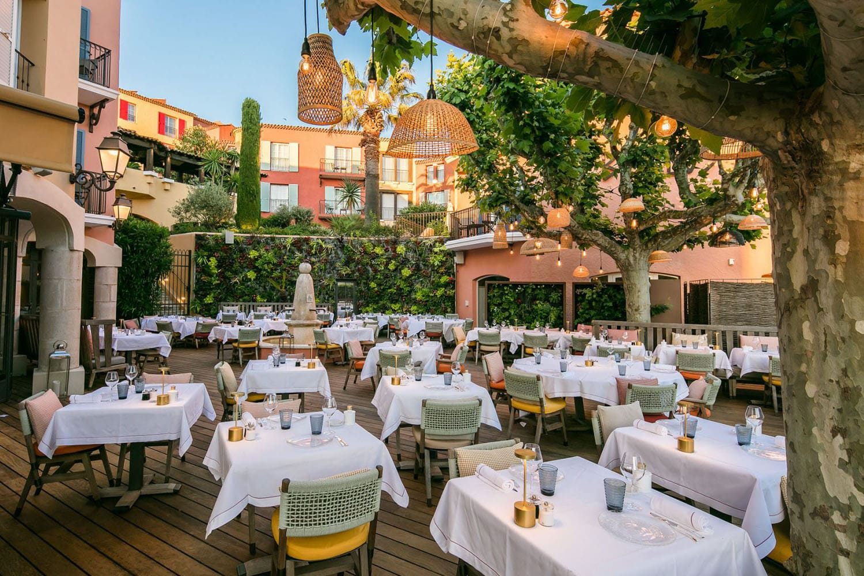 Restaurant La Cucina at the Byblos Saint-Tropez hotel