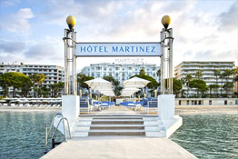 Luxury hotel in Cannes