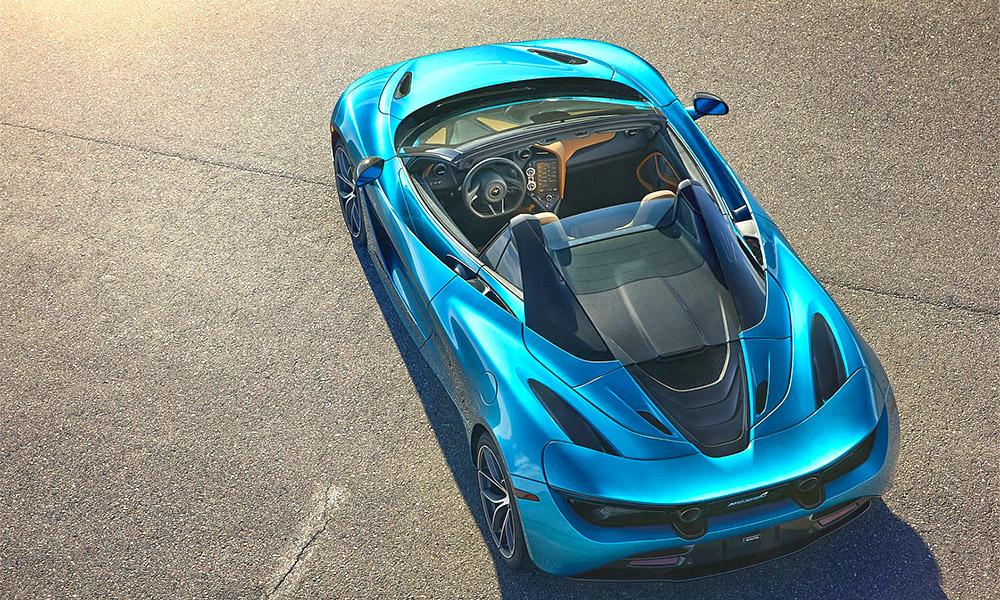 Luxury car with stunning design
