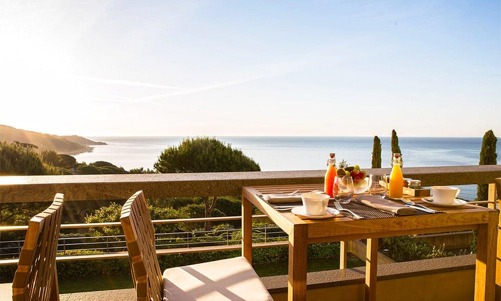 Outstanding sea view at Hotel La Reserve Ramatuelle