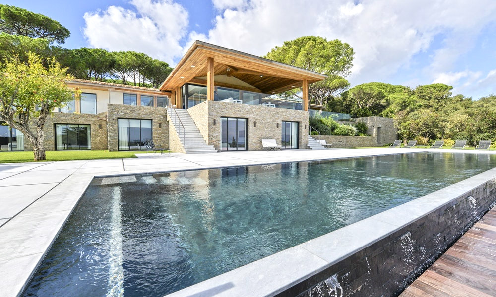 Luxury villa with exceptional architecture
