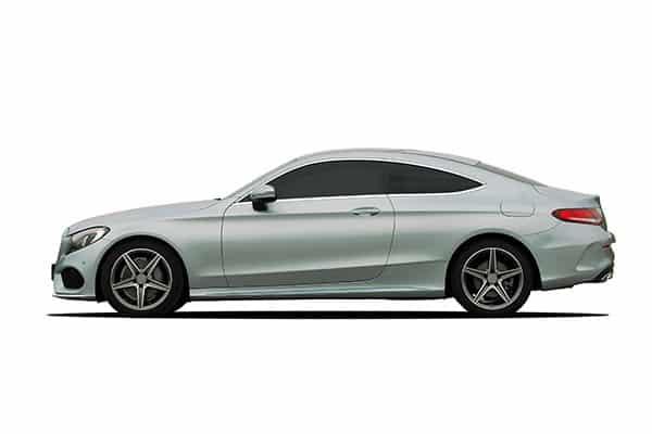 Luxury sedan car