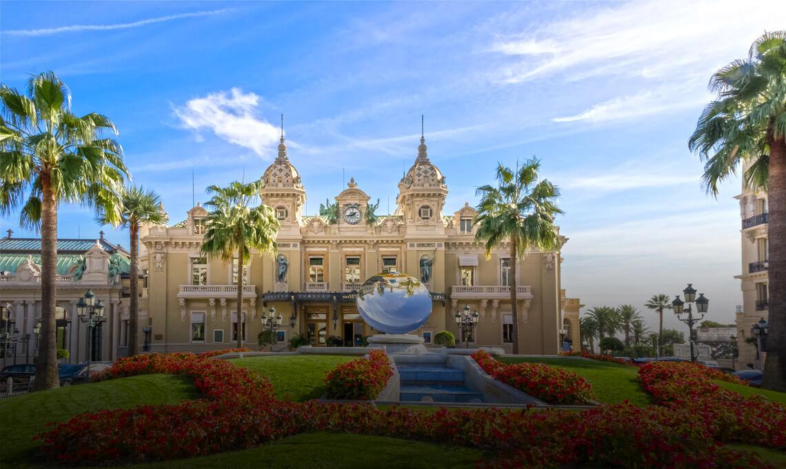 Monte-Carlo casino in Monaco