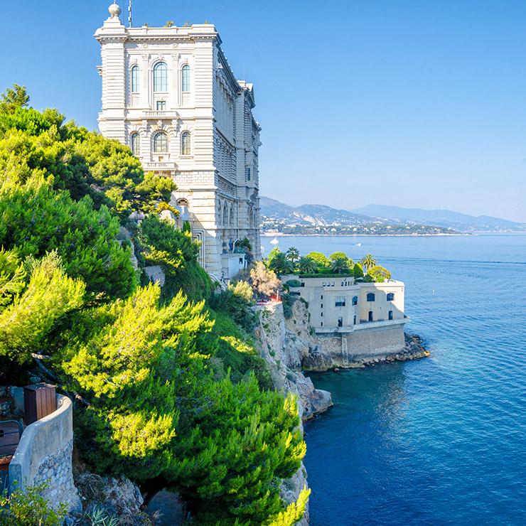 Oceanographic musem of Monaco, French Riviera
