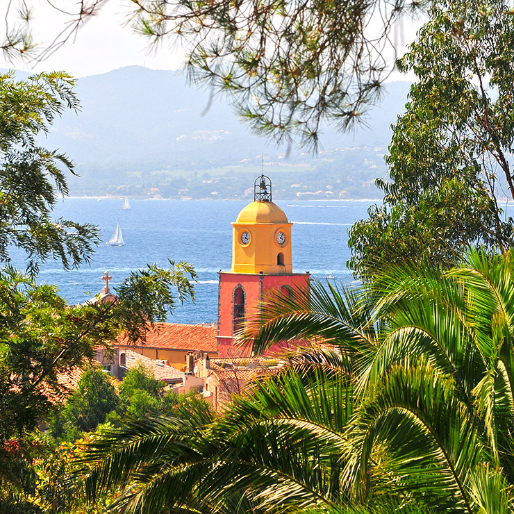 Saint-Tropez bell tower, French Riviera