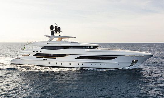 Baglietto superyacht of 46 meters