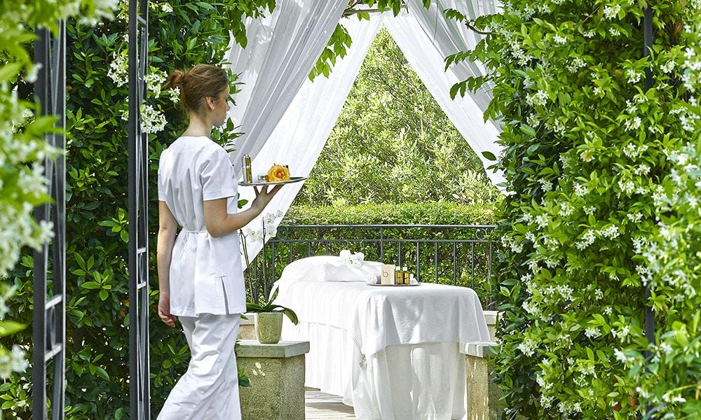 Spa d'un hôtel de luxe sur la Côte d'Azur