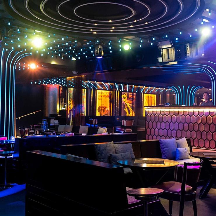 Nightclub in Monaco, French Riviera