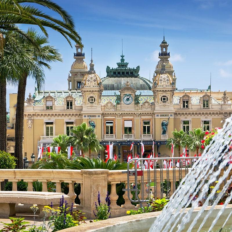 La Principauté de Monaco, Côte d'Azur