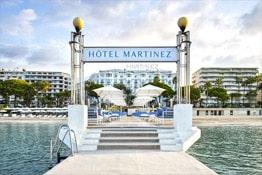 Hôtel de luxe à Cannes