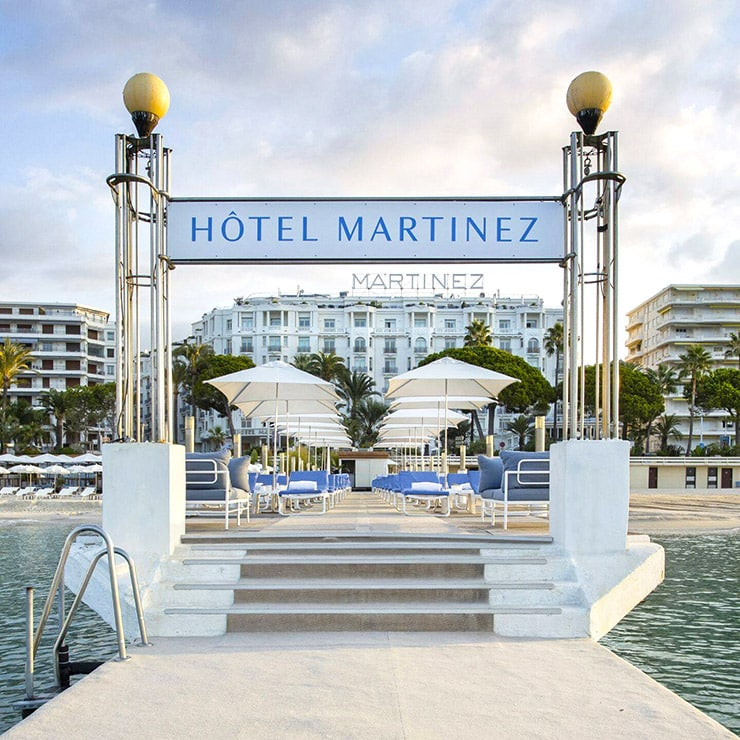 Luxury hotel in Cannes, French Riviera, France