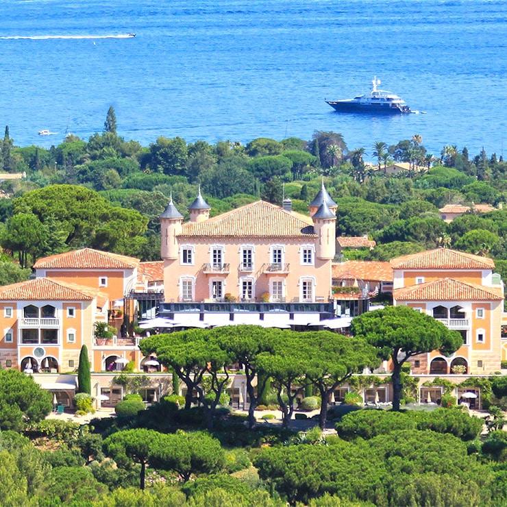 Hôtel de luxe à Saint-Tropez, Côte d'Azur, France