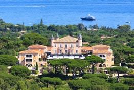 Hôtel de luxe à Saint-Tropez
