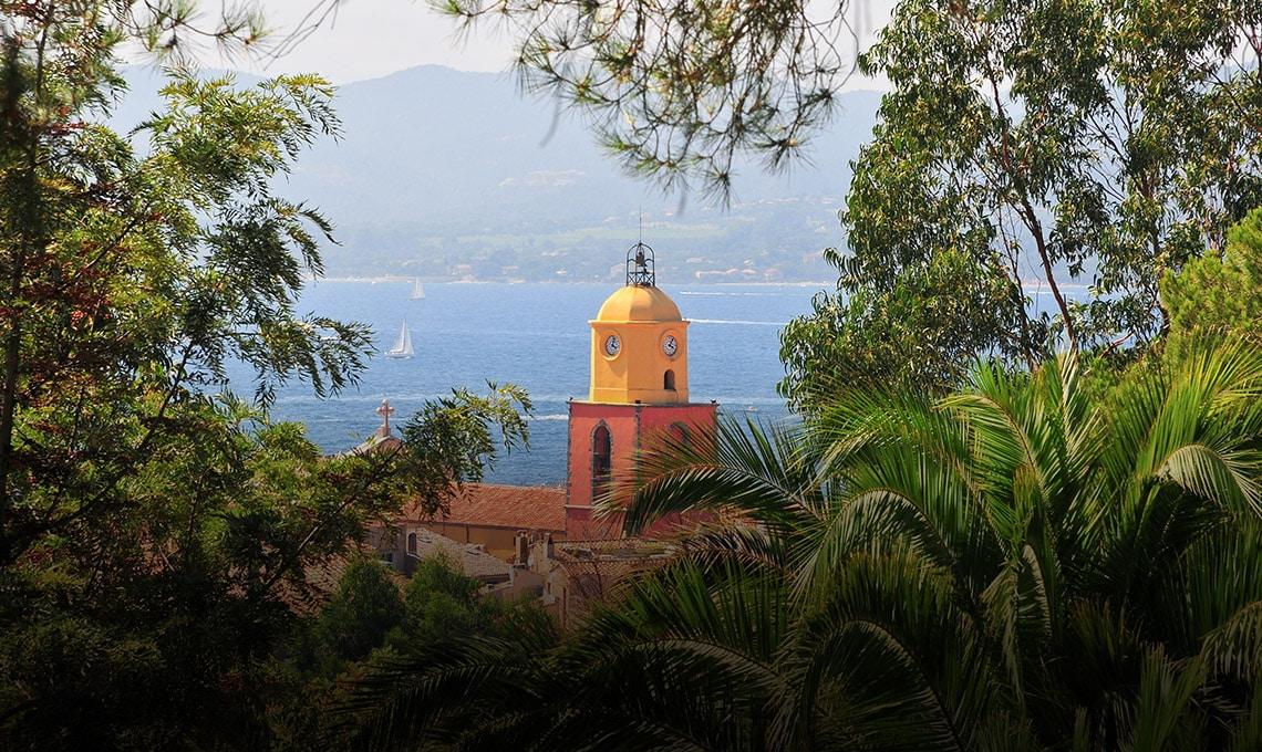 Le célèbre clocher de Saint-Tropez