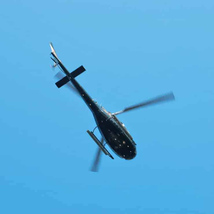 Helicopter flight over Cannes, French Riviera, South of France