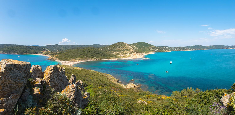 Cap Taillat in the Gulf of Saint-Tropez