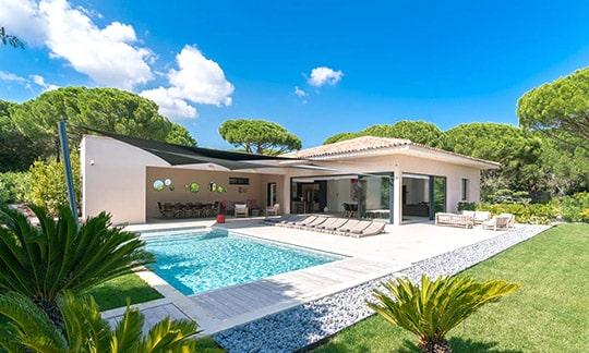Villa de luxe sur la Côte d'Azur, Sud de la France