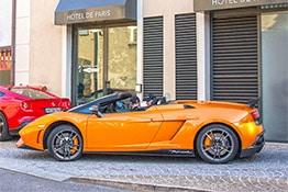 Luxury Car in Saint-Tropez