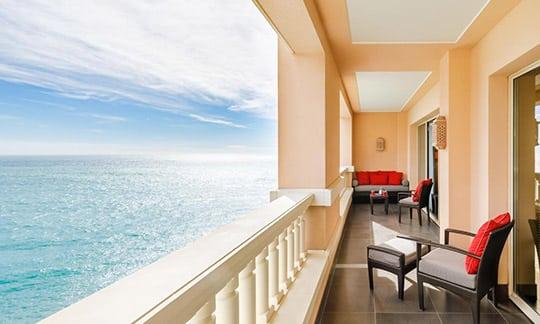 Hôtel de luxe sur la Côte d'Azur, Sud de la France