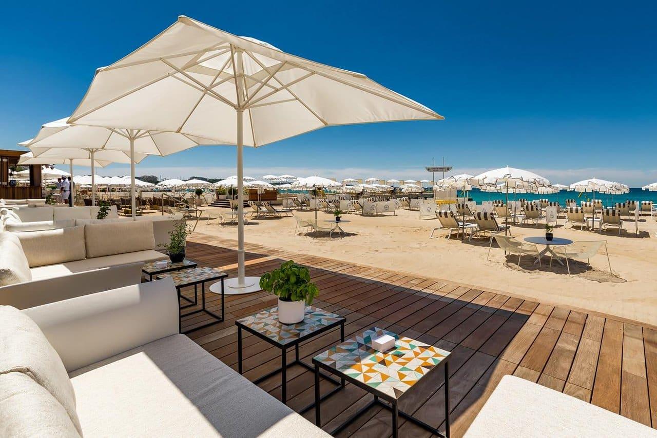 La Plage du Carlton Beach Club à Cannes