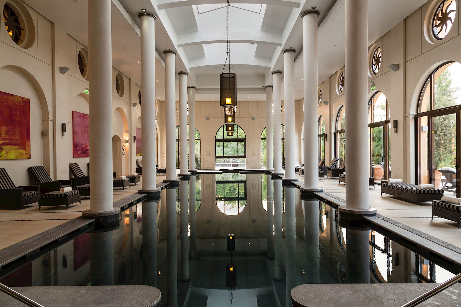 Terre Blanche Spa pool