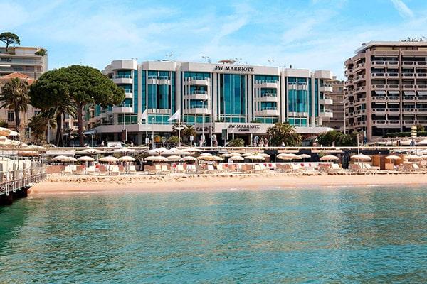 Hôtel JW Marriott sur la Croisette à Cannes