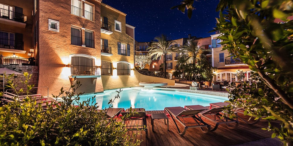 L'hôtel de luxe Le Byblos à Saint-Tropez