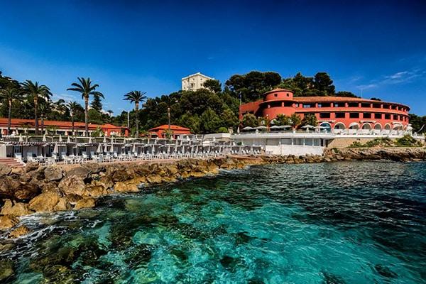The Monte-Carlo Beach Hotel in Monaco