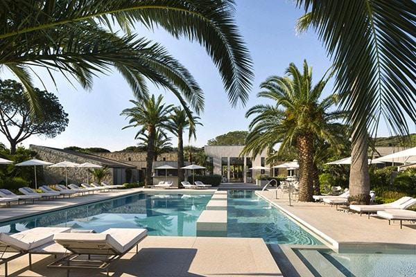 5 star hotel Le Sezz in Saint-Tropez