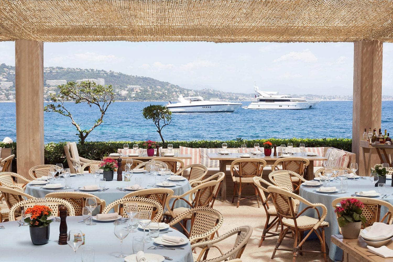 Restaurant La Guérite in Cannes