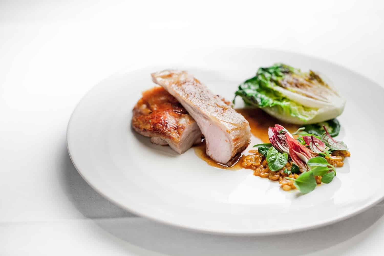 Photo d'un plat au restaurant Le Louis XV Monaco