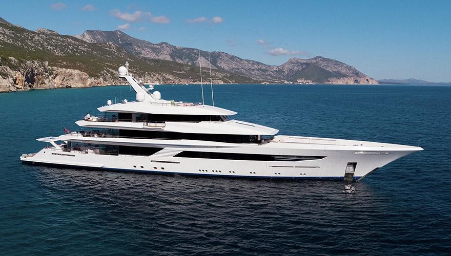 Yacht JOY (Feadship Custom)
