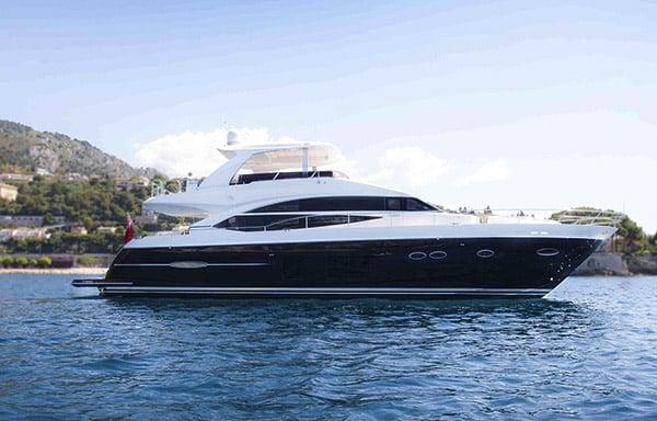 Yacht Obsessio (Princess 72)