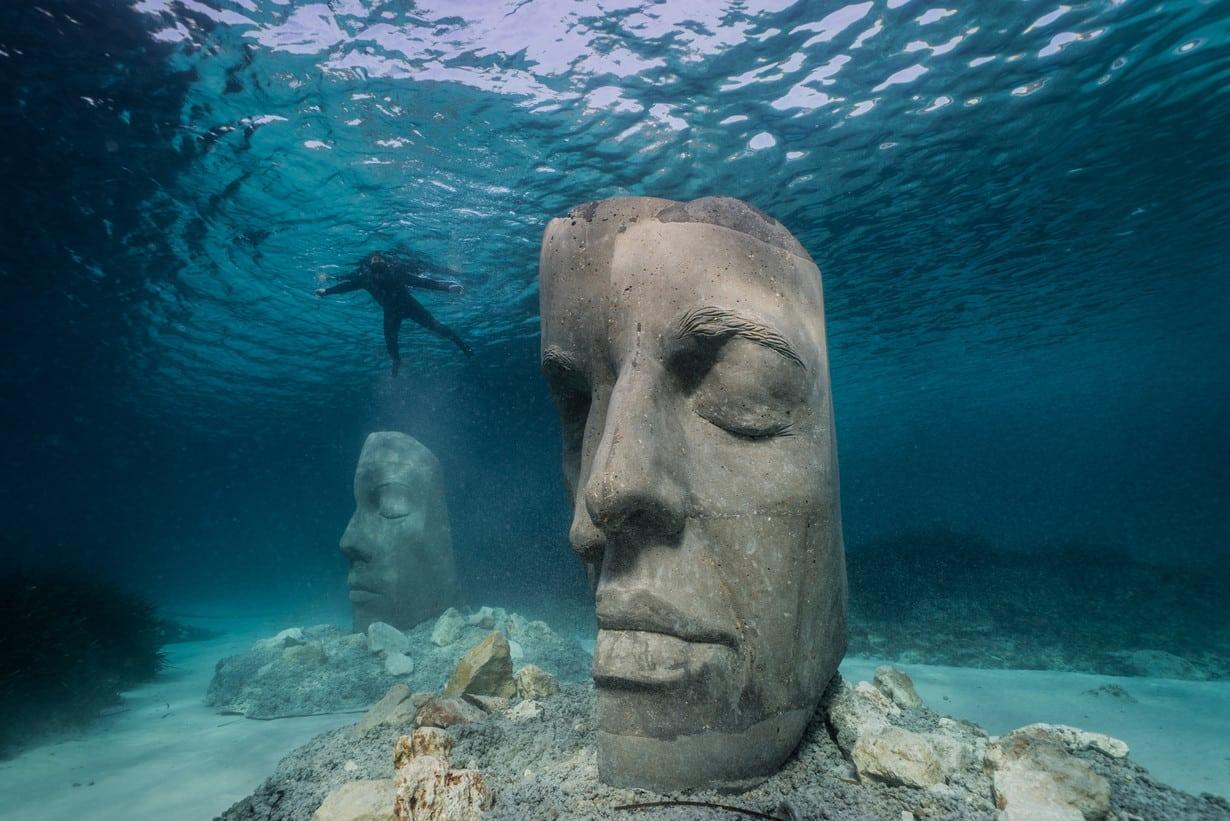 Eco-musée sous marin à Cannes