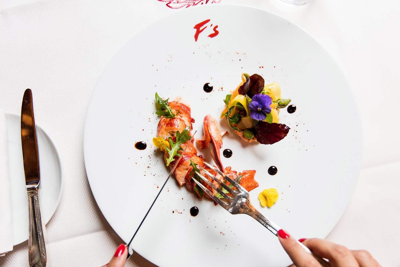 Plat du Restaurant Fouquet's Cannes