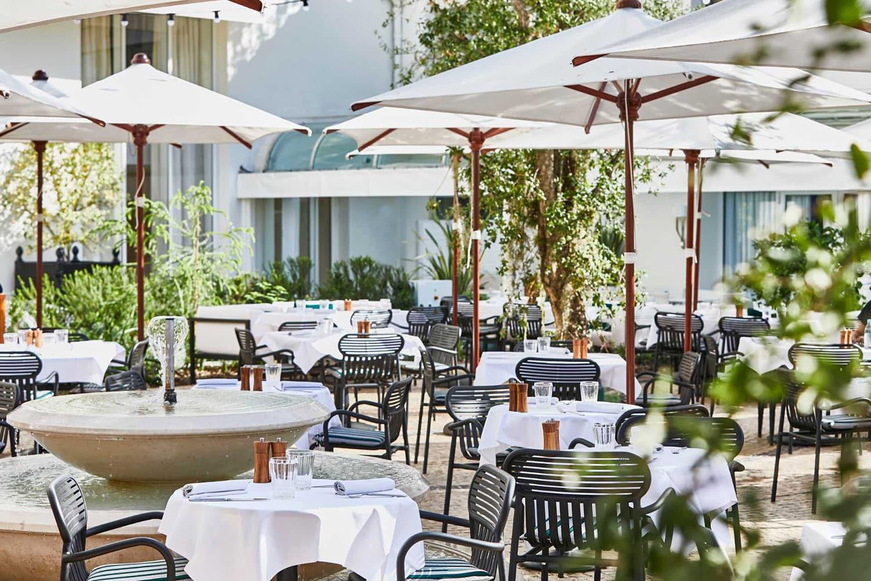 Restaurant Le Jardin du Martinez à Cannes