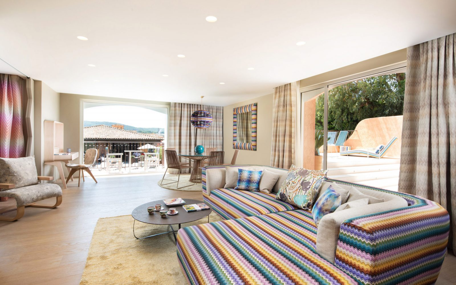 Missoni Suite at the Byblos Hotel