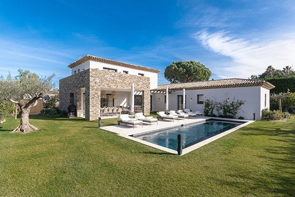 Luxurius Avalon Villa in Saint-Tropez