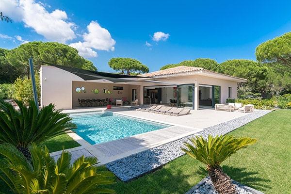 Villa Cycas in Ramatuelle (Gulf of Saint-Tropez)
